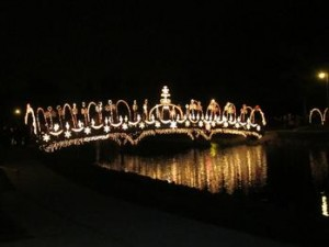 Windmont lighting bridge