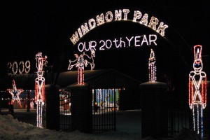 Windmont lighting entry