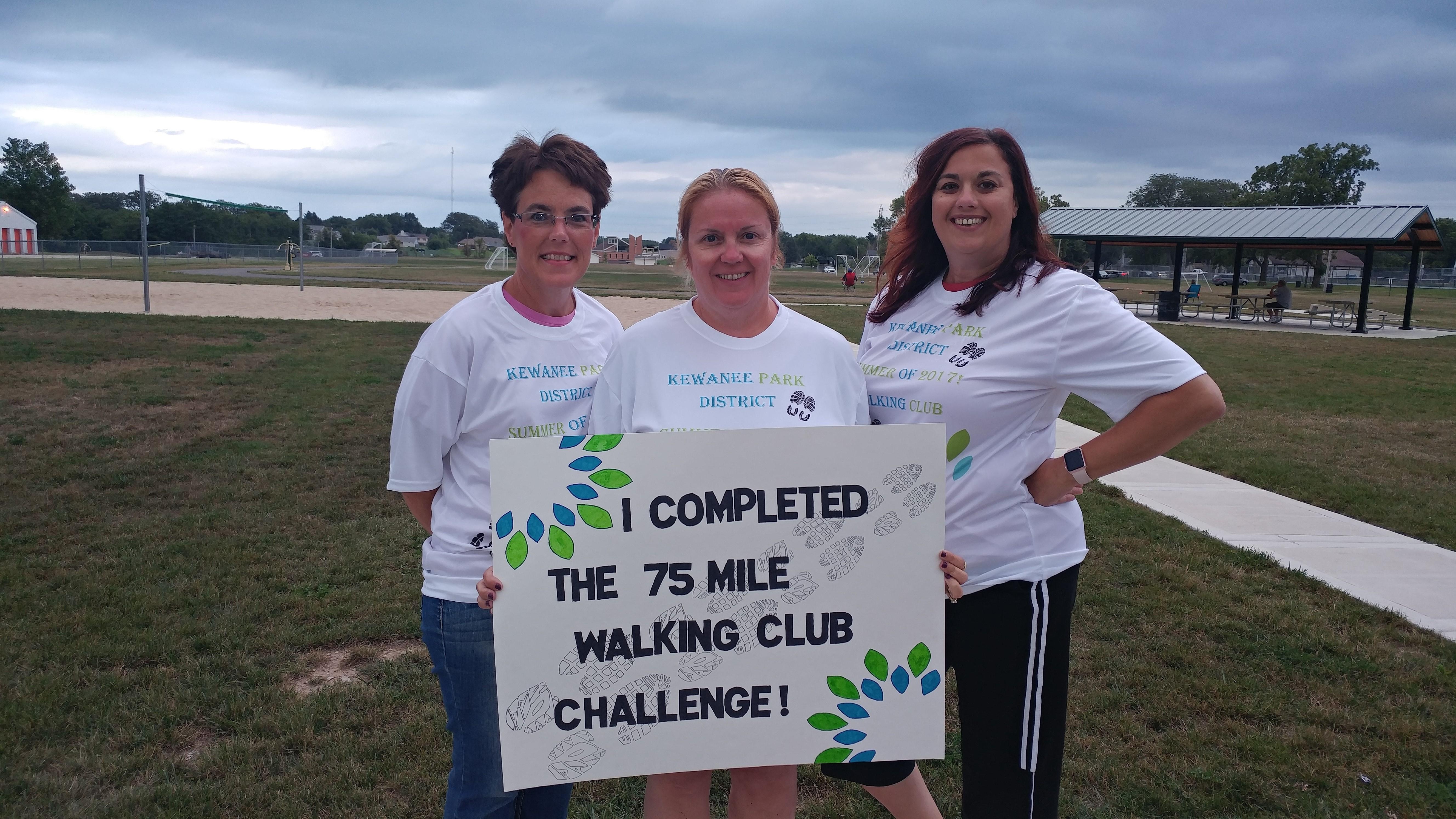 Walking Club Kewanee Park District